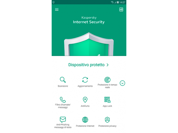 Kaspersky Internet Security for Android 2019 (1 anno)